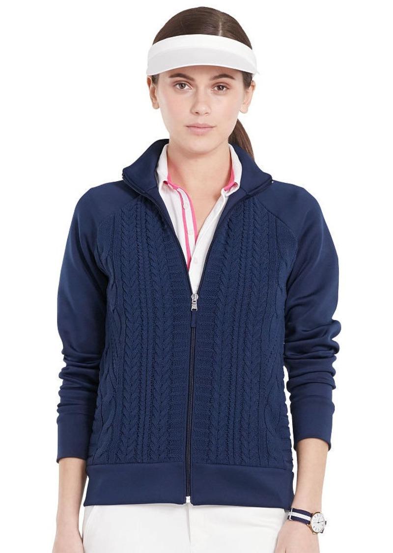 Ralph Lauren Cable-Front Cotton Jacket