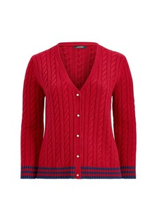 Ralph Lauren Cable-Knit Cardigan