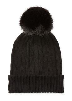 Ralph Lauren Cable-Knit Cashmere Hat