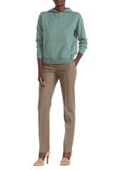 Ralph Lauren Cable Knit Cashmere Hoodie