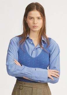 Ralph Lauren Cable-Knit Cashmere Tank Top