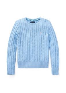 Ralph Lauren Cable-Knit Cotton Sweater