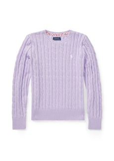 Ralph Lauren Cable-Knit Cotton Sweater