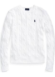 Ralph Lauren Cable-Knit Crewneck Sweater