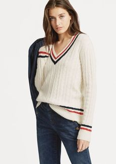 Ralph Lauren Cable-Knit Cricket Sweater