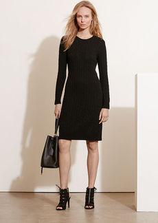 Ralph Lauren Cable-Knit Sweater Dress