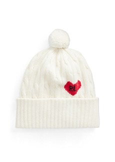 Ralph Lauren Cable-Knit Wool-Blend Hat
