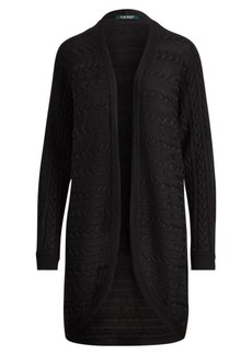 Ralph Lauren Cable Open-Front Cardigan
