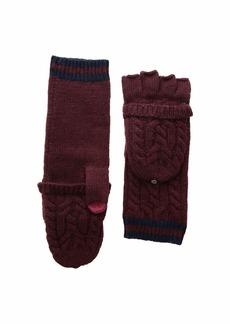 Ralph Lauren Cable Pop Top Touch Gloves