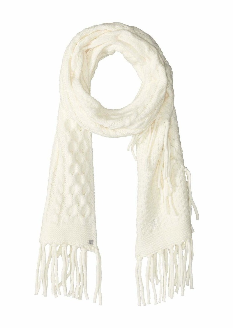 Ralph Lauren Cable Scarf with Fringe