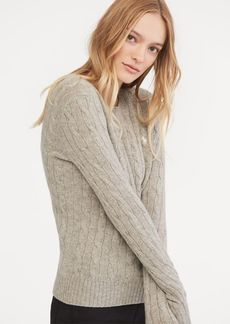 Ralph Lauren Cable Wool Crewneck Sweater