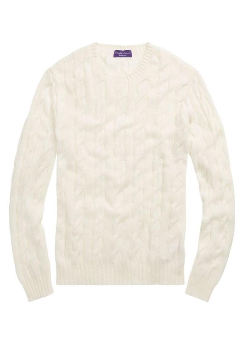 Ralph Lauren Cableknit Cashmere Sweater