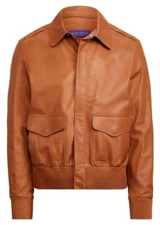 Ralph Lauren Calfskin Flight Jacket