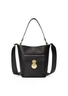 Ralph Lauren Calfskin Mini RL Bucket Bag