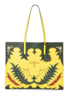 Ralph Lauren Calfskin Oversize Tote Bag
