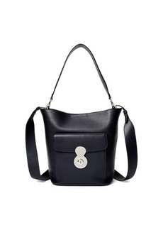 Ralph Lauren Calfskin RL Bucket Bag