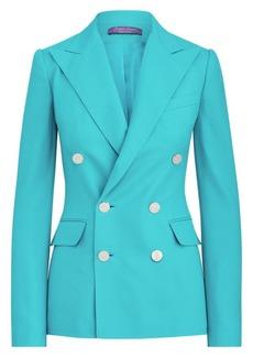 Ralph Lauren Camden Double Breasted Cashmere Blazer Jacket