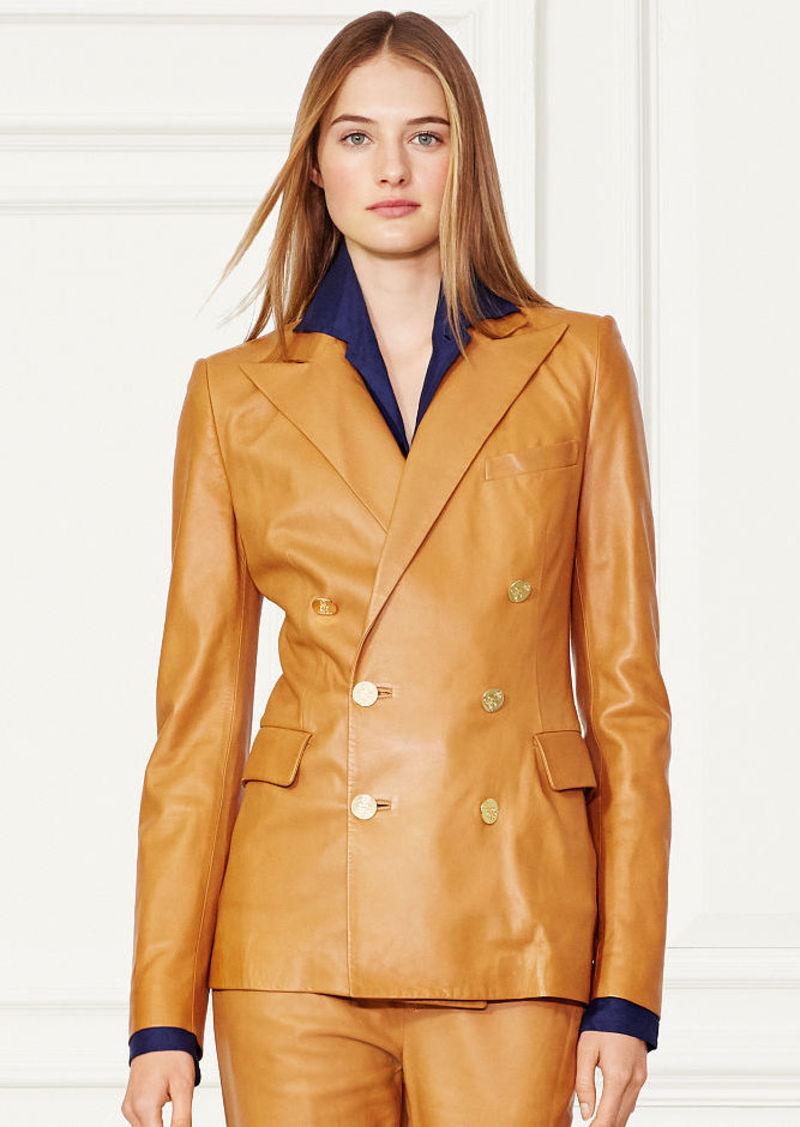 Ralph Lauren Camden Lambskin Jacket