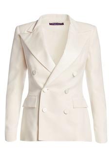 Ralph Lauren Camden Silk Tuxedo Jacket