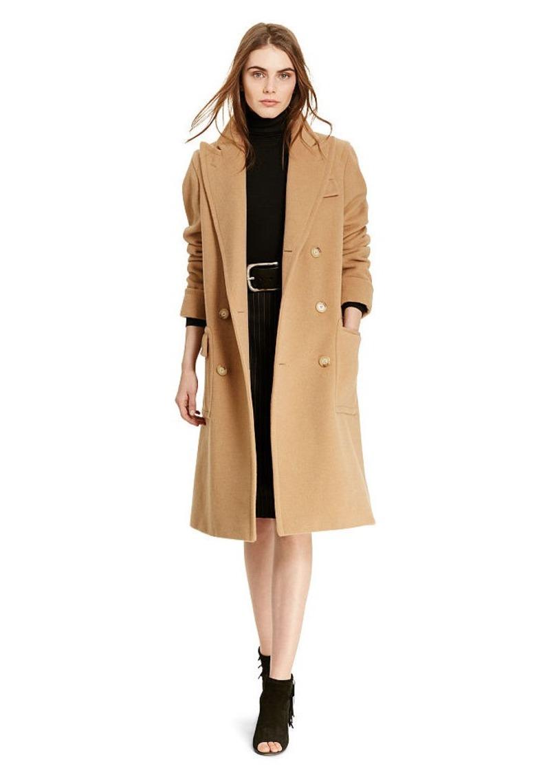 Ralph Lauren Camel Hair Polo Coat