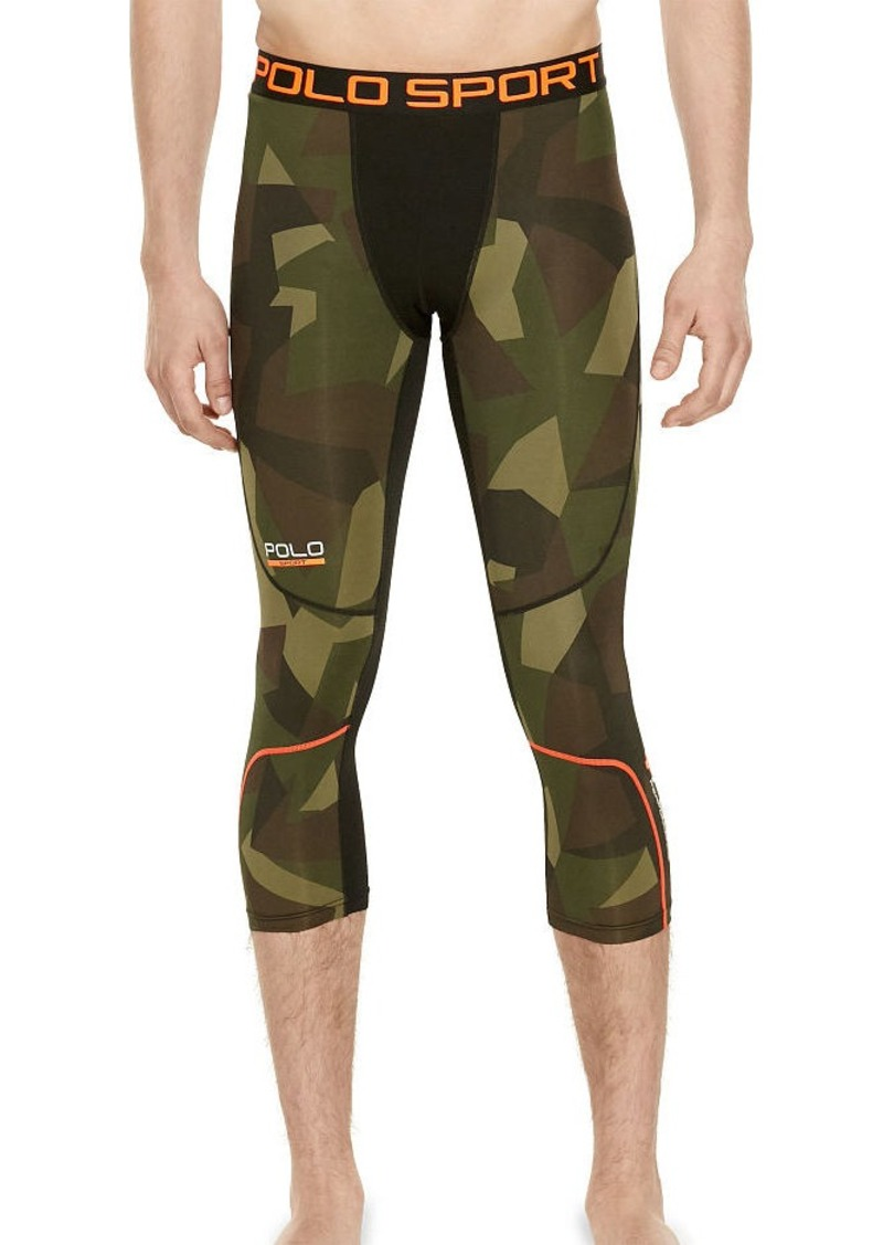 Ralph Lauren Camo Compression Jersey Tights