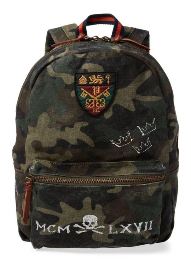 66a5a0f1ea Ralph Lauren Camo Cotton Backpack