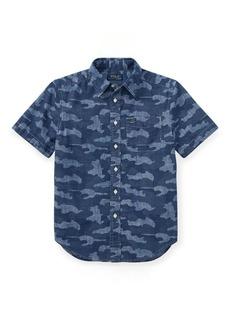 Ralph Lauren Camo Cotton Chambray Shirt
