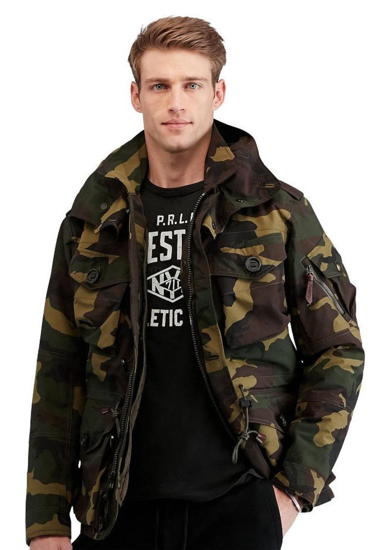 000c050dbefba Ralph Lauren Camo Hooded Utility Jacket | Outerwear