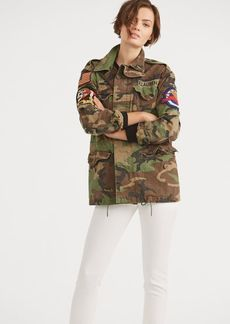 Ralph Lauren Camo Military Combat Jacket