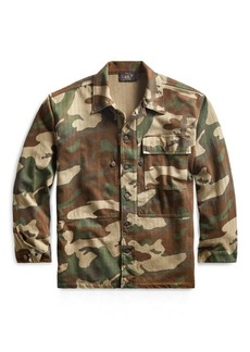 Ralph Lauren Camo-Print Jersey Overshirt