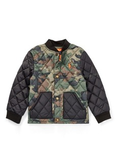 Ralph Lauren Camo Quilted Baseball Jacket