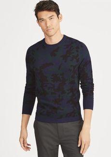 Ralph Lauren Camo Wool-Blend Sweater