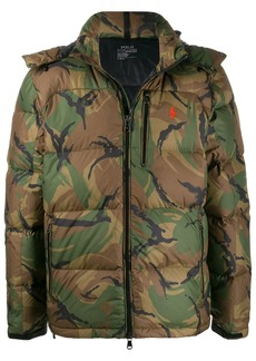 Ralph Lauren camouflage print padded jacket