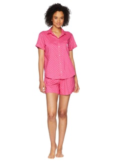 Ralph Lauren Camp Shirt Boxer Pajama Set