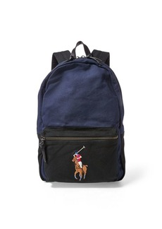 Ralph Lauren Canvas Big Pony Backpack