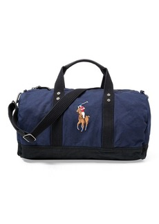 Ralph Lauren Canvas Big Pony Duffel Bag