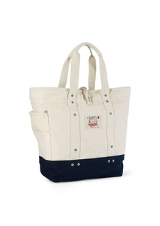 Ralph Lauren Canvas East Hampton Tote