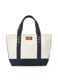 Ralph Lauren Canvas Mini Tote Bag