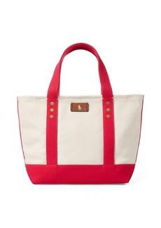 Ralph Lauren Canvas Mini Tote Bag