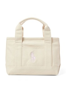 Ralph Lauren Canvas Small Scholar II Tote