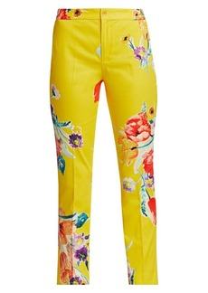 Ralph Lauren Carlina Floral Chino Pants