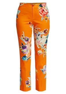 Ralph Lauren Carlina Floral Pants