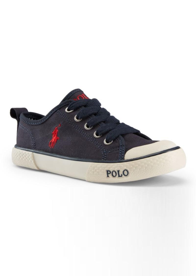ralph lauren carlisle ii canvas sneaker shoes shop it to me. Black Bedroom Furniture Sets. Home Design Ideas