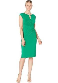 Ralph Lauren Carlonda Cap Sleeve Day Dress