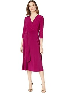 Ralph Lauren Carlyna 3/4 Sleeve Day Dress