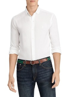 Ralph Lauren Carpri Slim-Fit Mesh Knit Shirt
