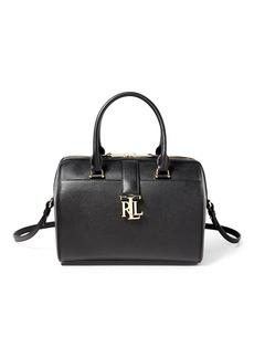 Ralph Lauren Pebble Leather Braelyn Satchel