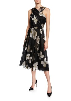Ralph Lauren Carthage Halter Cocktail Dress