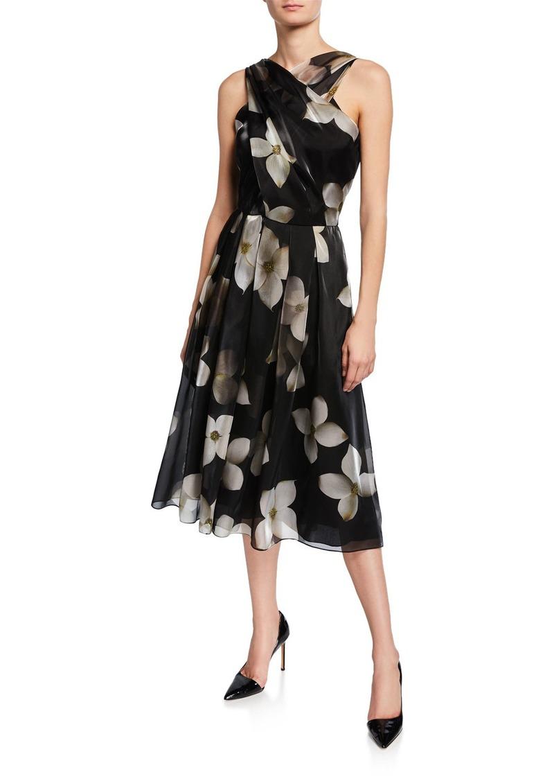 Ralph Lauren Carthage Halter Cocktail Dress