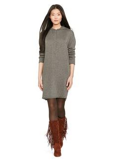 Cashmere-Blend Hooded Dress